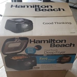 Hamilton Beach Kitchen - Hamilton Beach (35021) Deep Fryer Pro Grade (NIB)
